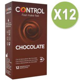 CONTROL CHOCOLATE 12 UNIT PACK 12