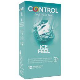 CONTROL ICE FEEL COOL EFFECT 10 UNITS