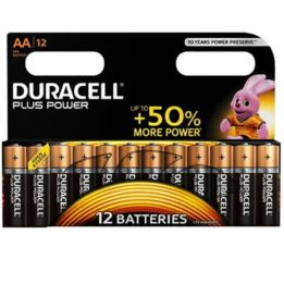 DURACELL PLUS POWER BATTERY  AA LR6 12UNITS