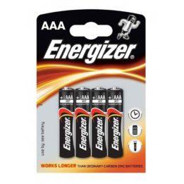 ENERGIZER ALKALINE POWER BATTERY AAA LR03 *4