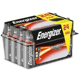 ENERGIZER ALKALINE POWER BATTERY  AAA LR03 P*24
