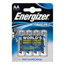 ENERGIZER ULTIMATE LITHIUM AA L91 LR6 1
