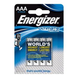 ENERGIZER ULTIMATE LITHIUM  AAA L92 LR03 1