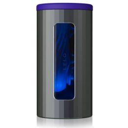 LELO F1S V2 MASTURBATOR SDK TECHNOLOGY - GUNMETAL AND BLUE MIDNIGHT
