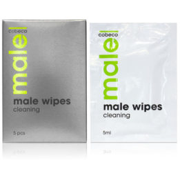MALE COBECO WIPES CLEANING  5 X 5ML