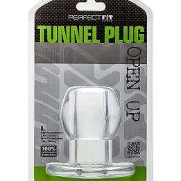 PERFECT FIT ASS TUNNEL PLUG SILICONE CLEAR L