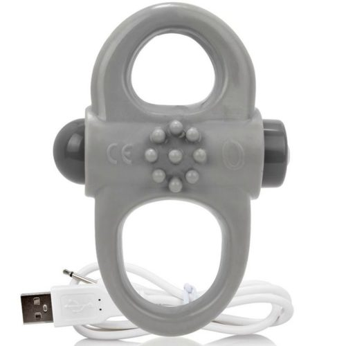 SCREAMING O RECHARGEABLE AND VIBRATING RING YOGA GREY